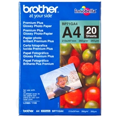 Brother Glossy Foto Inkjet Papir BP71GA4