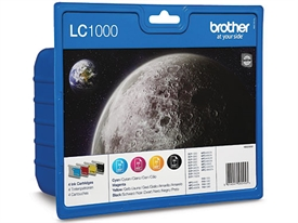 Brother LC-1000 Blækpatron LC1000VALBP